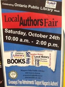 October 24 BOOK FAIR Poster