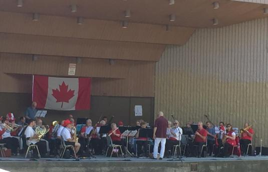 Thorold Reed Band Canada Day 2016