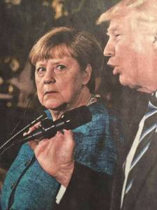 Angela Merkel and Trump Mar 16 2017